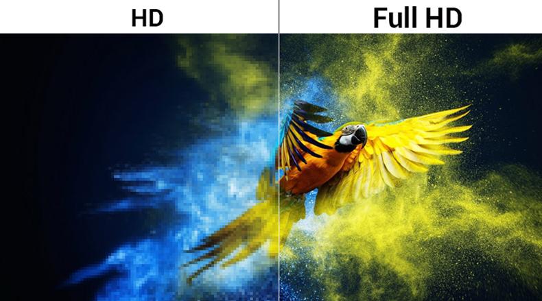 Màn hình độ phân giải full HD