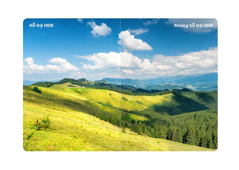 Tivi Xiaomi 4S 65 inch Pro hỗ trợ công nghẹ HDR