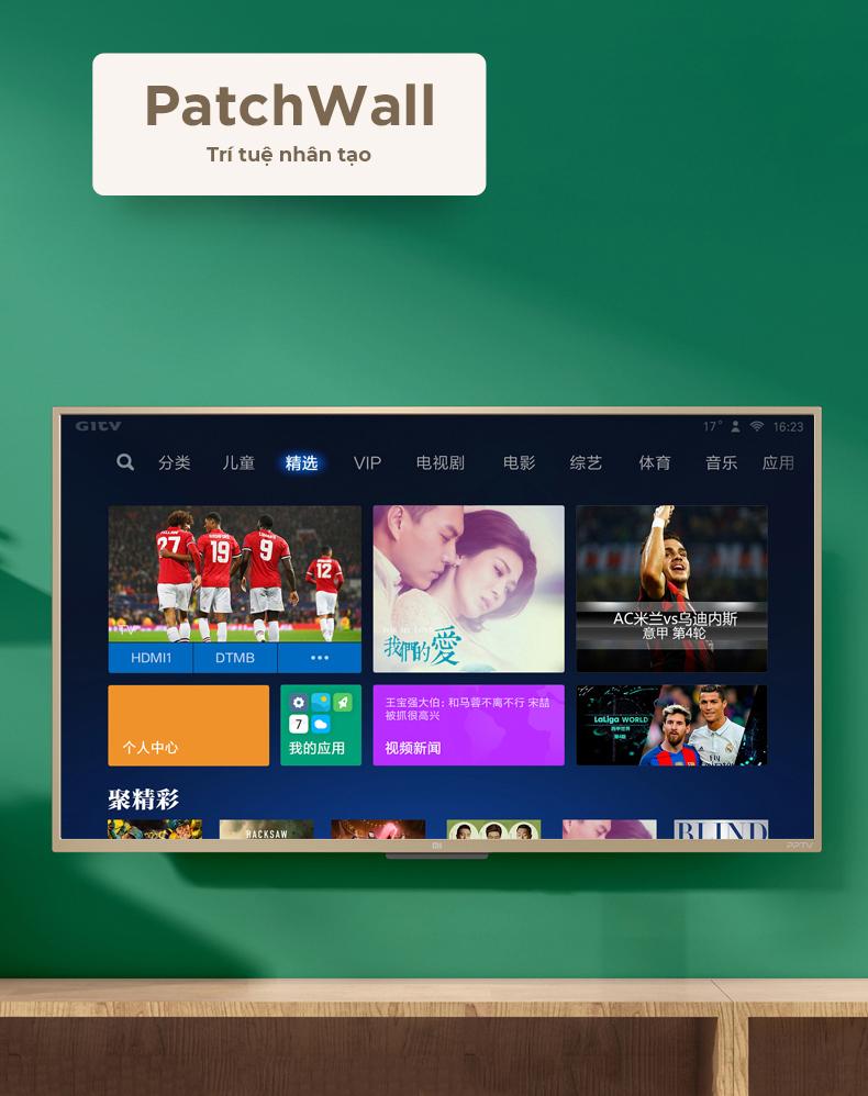 Tivi Xiaomi 4A 43 inch 2018 tích hợp trí thông minh nhân tạo