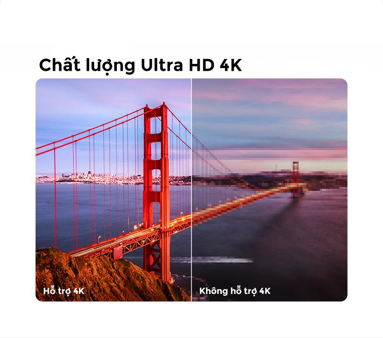 Màn hình độ phân giải Ultra HD 4K
