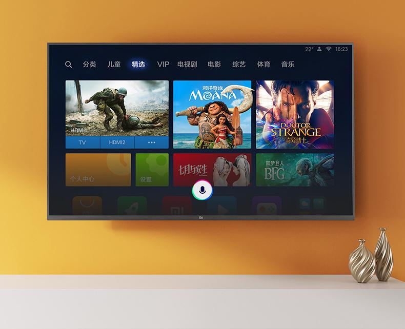 Tivi Xiaomi 4 49 inch tích hợp trí tuệ nhân tạo